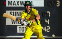 Australia's Steve Smith plays a shot during a World Cup cricket warm-up match against New Zealand in Brisbane on 10 May 2019. Picture: AFP