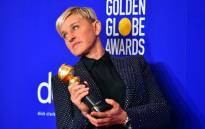 US actress and TV host Ellen DeGeneres poses in the press room with the Carol Burnett award during the 77th annual Golden Globe Awards on 5 January 2020, at The Beverly Hilton Hotel in Beverly Hills, California. Picture: AFP