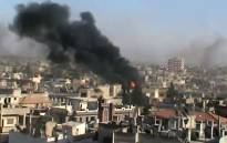 More than 200 Syrians, mostly civilians, were massacred in a village in the rebellious Hama region when it was bombarded by helicopter gunships and tanks and then stormed by militiamen, opposition activists said.