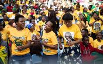 ANC supporters at the launch of the party's election manifesto launch at the Moses Mabhida Stadium on 12 January 2019. Picture: Sethembiso Zulu/EWN