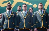 The Springboks at OR Tambo International Airport before they jet off to Japan for the Rugby World Cup on 30 August 2019. Picture: Abigail Javier/EWN