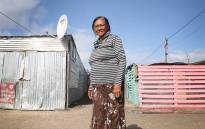 Susie Williams, one of the first residents of Blikkiesdorp on the Cape Flats. Picture: Bertram Malgas