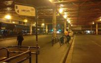 FILE: An empty bus terminus is pictured in the Cape Town CBD amid a bus driver strike. Picture: Lauren Isaacs/EWN.