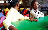 FILE: The first day at school. Picture: EWN