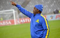 FILE: Sundowns coach Pitso Mosimane points out instructions to his players during a match on 13 August 2014. Picture: EWN