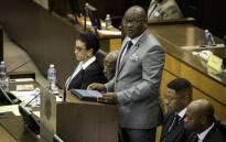 FILE: Gauteng Premier David Makhura speaking at the Gauteng Legislature 26 February 2018. Picture: Sethembiso Zulu/EWN