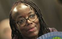 Zimbabwean author Tsitsi Dangarembga at the Frankfurt book fair in Frankfurt am Main, western Germany, on 12 October 2018. Picture: AFP.