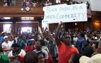 FILE: UCT #Fees2017 protesters occupy Upper Campus of the University of Cape Town. Picture: Anthony Molyneaux/EWN