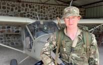 British soldier Mathew Talbot. Picture: @ArmyInLondon/Facebook.com.