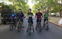 The Stellenbosch University students who will cycle 902km to raise funds for providing basic necessities for medical students. Picture: Supplied