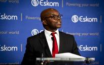 FILE: Eskom CEO Phakamani Hadebe briefs the media on the power utility's financial standings. Picture: Kayleen Morgan/EWN