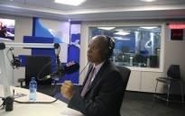FILE: Johannesburg Mayor Herman Mashaba talks to Karima Brown during an interview on Talk Radio 702. Picture: Refilwe Pitjeng/EWN