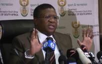 FILE: Sports Minister Fikile Mbalula. Picture: Vumani Mkhize/EWN.
