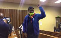 Ngizwe Mchunu reacts after being granted bail in the Randburg Magistrates Court on 29 July 2021. Picture: Eyewitness News