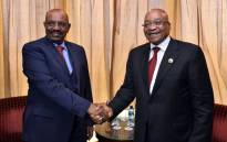 FILE: President Jacob Zuma with President Omer Al-Bashir of the Republic of the Sudan. Picture: GCIS.