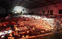 The Pentecostal church in Ndlangubo in KwaZulu-Natal after a structural collapse on 18 April 2019. Picture: Supplied