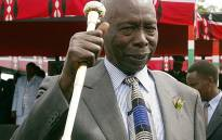 FILE: Kenyan president Daniel Arap Moi waves at the end of a farewell ceremony in Nairobi 28 December 2002. Picture: AFP