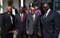 FILE: President Cyril Ramaphosa, Finance Minister Nhlanhla Nene and Jacob Zuma. Picture: GCIS.