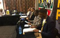 IFP leaders hold a press briefing on 30 July 2018. Picture: @IFPinParliament/Twitter