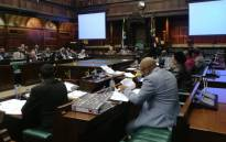 Home Affairs committee gathering in Parliament on 12 September 2018 for the inquiry into the early naturalisation of the Gupta family. Picture: @ParliamentofRSA/Twitter