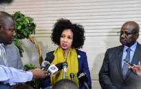 FILE: Minister of International Relations and Cooperation Lindiwe Sisulu. Picture: @SAgovnews/Twitter.
