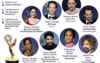 Main winners for the 2018 Primetime Emmy Awards.