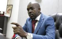 FILE: Zimbabwe opposition leader and president of the Movement for Democratic Change (MDC) Nelson Chamisa in Harare on 3 July 2018. Picture: AFP.
