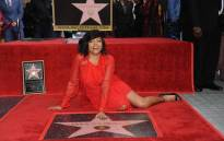 Taraji P Henson has been honoured with a star on the Hollywood Walk of Fame. Picture: @OfficialHollywoodWalkofFame/Facebook.com.