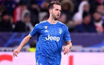 FILE: Juventus midfielder Miralem Pjanic plays the ball during the UEFA Champions League round of 16 first-leg football match between Lyon and Juventus at the Parc Olympique Lyonnais stadium in Decines-Charpieu, central-eastern France, on 26 February 2020. Picture: AFP