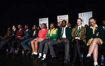 South Africa's top matric achievers on stage at the ministerial pass rate and prize giving announcement on 7 January 2020. Picture: Kayleen Morgan/EWN