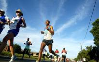 Athletes participate in the Soweto Marathon on 5 November 2006. Picture: Werner Beukes/SAPA