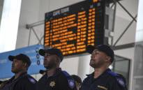 FILE: Rail enforcement officers at the Cape Town train station. Picture: Cindy Archillies/EWN