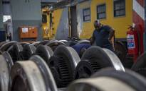 FILE: A view inside the Prasa repair depot where trains are fixed, renovated and parts are shipped off for off-site repairs. Picture: Thomas Holder/EWN