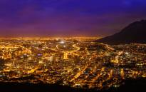 City of Cape Town by night. Picture: 123rf.com