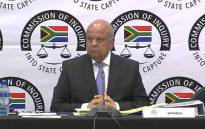 Pravin Gordhan testifies at the Zondo commision of inquiry into state capture on 19 November 2018. Picture: EWN