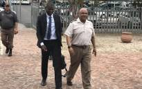 FILE: Justice and Correctional Services Minister Ronald Lamola (L) and Commissioner of Correctional Services Arthur Fraser (R) arrive at the Goodwood Correctional Facility on 4 February 2020. Picture: Lauren Isaacs/Eyewitness News