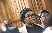 Lerato Sengadi during proceedings  at the Johannesburg High Court. Picture: Kayleen Morgan/EWN