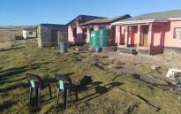 Seven family members from Mthatha in the Eastern Cape on 25 July 2019 were burnt beyond recognition after their house had burnt to the ground. Picture: @SAPoliceService/Twitter.