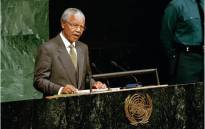 FILE: The late and former SA President Nelson Mandela at the United Nations. Picture: GCIS.