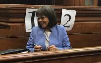 Patricia de Lille in the Western Cape High Court on 15 May 2018. Picture: Monique Mortlock/EWN.