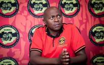 South African Municipal Workers Union (Samwu) general secretary Koena Ramotlou. Picture: Sethembiso Zulu/EWN