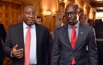 FILE: President Cyril Ramaphosa and Home Minister Malusi Gigaba. Picture: GCIS