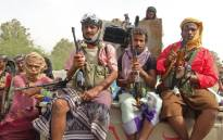 FILE: Yemeni pro-government forces gather on the eastern outskirts of Hodeida as they continue to battle for the control of the city from Huthi rebels on 9 November 2018. Picture: AFP