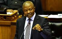 FILE: Deputy President David Mabuza answers questions in the National Assembly. Picture: GCIS