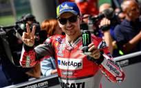 Spanish MotoGP rider Jorge Lorenzo. Picture: @lorenzo99/Twitter