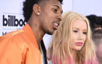FILE: Professional basketball player Nick Young and Iggy Azalea attend the 2015 Billboard Music Awards, 17 May 2015, at the MGM Grand Garden Arena in Las Vegas, Nevada. Picture: AFP
