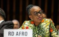 WHO's Africa head Matshidiso Moeti. Picture: Twitter/@MoetiTshidi