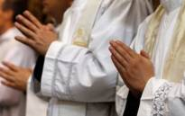 FILE: Catholic priests. Picture: AFP
