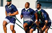 Springboks players in training during the Rugby World Cup 2019. Picture: @Springboks/Twitter.