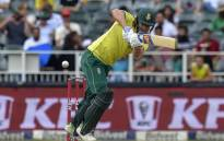 South Africa's David Miller plays a shot during the second T20 cricket match between South Africa and Pakistan at The Wanderers Cricket Stadium in Johannesburg on 3 February 2019. Picture: AFP